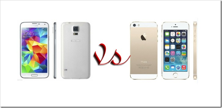 iPhone 5S vs Galaxy S5 – Toughest to Compare Smartphones