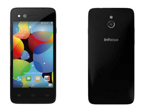InFocus M2 – (manufactured in U.S) HD, Quad-core Android Phone Under Rs 5000