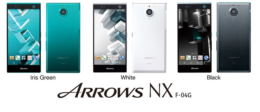 Fujitsu ARROWS NX F-04G will be the First Iris Scanner Phone