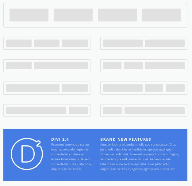 Divi Footer layouts