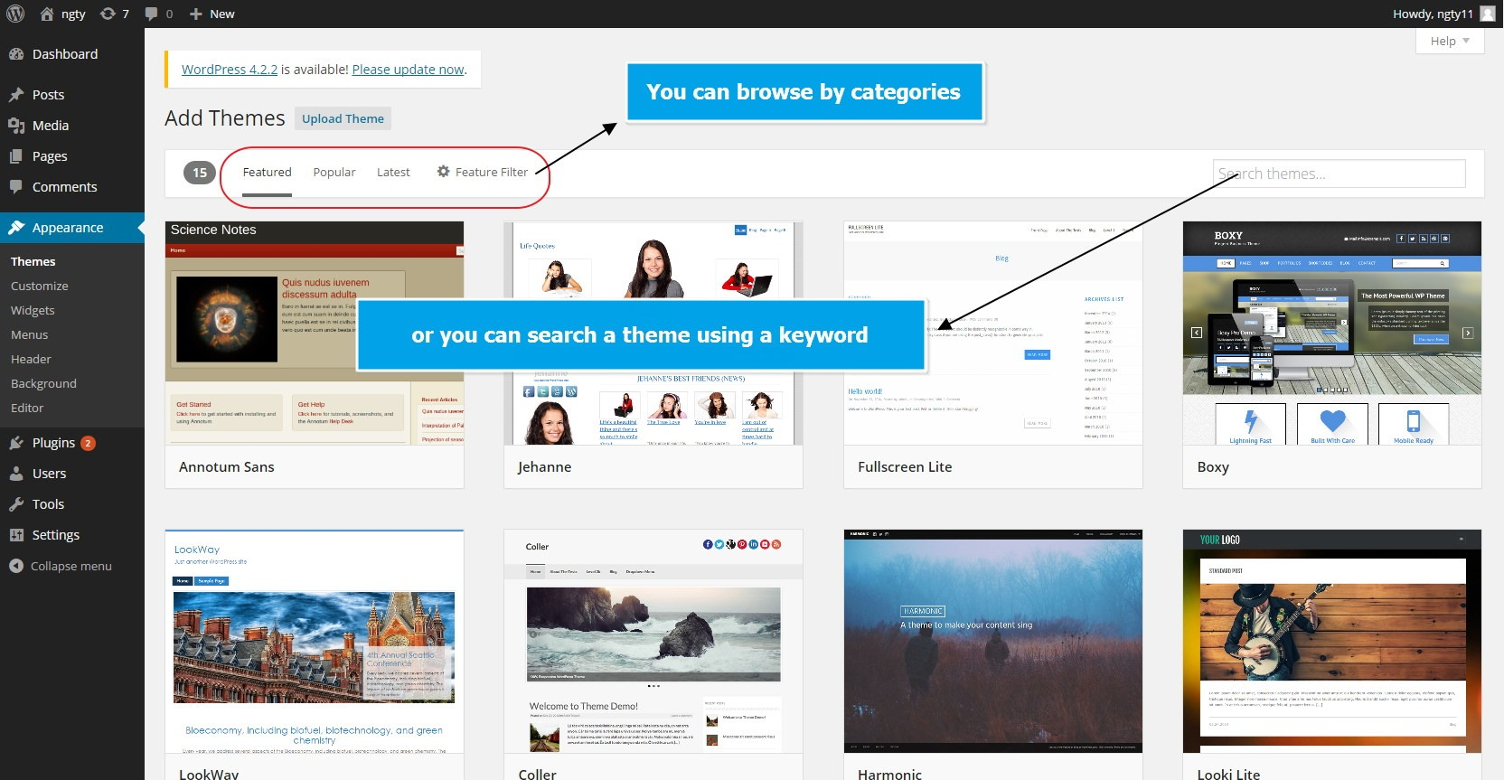 guide to installing wordpress theme In comparison to many other website platforms available online, wordpress has  one of the simplest installation procedures all you have to do.