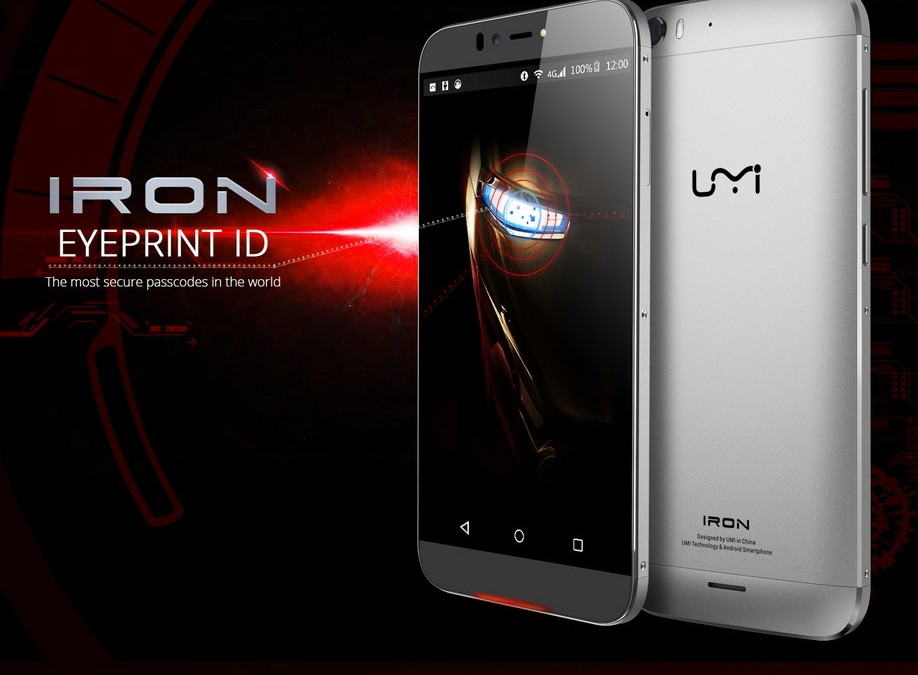 UMI Iron – Cheapest Iris Scanner Android phone [$179 – $201]