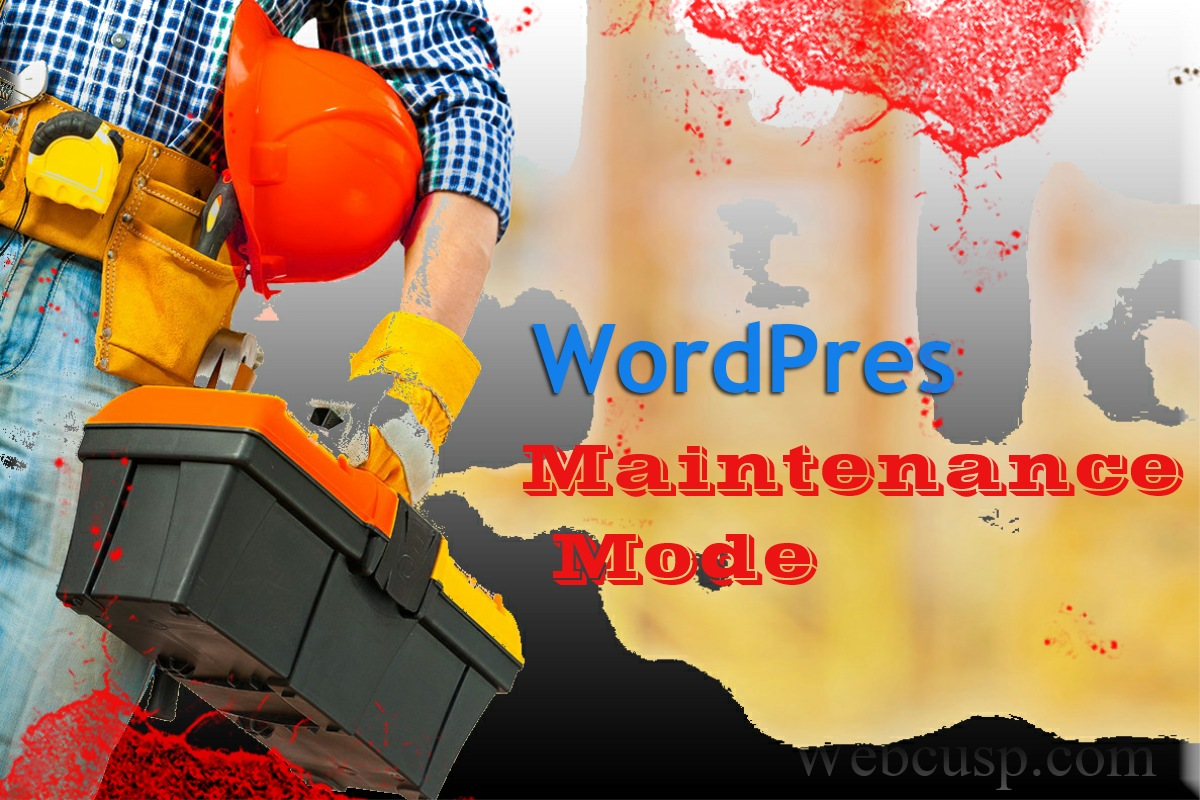 Maintenance Mode WordPress 2
