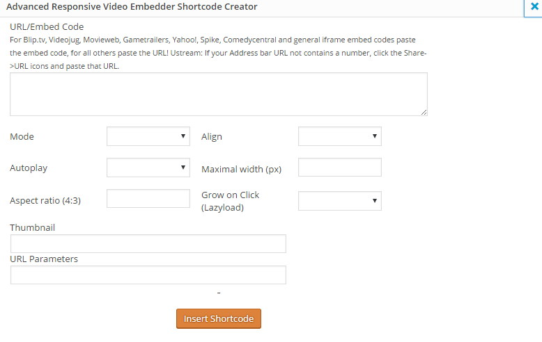 Advanced Responsive Video Embedder 2