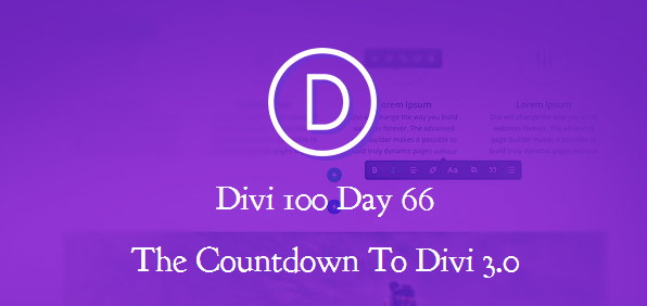 Divi 3.0 frontend page builder will blow your mind