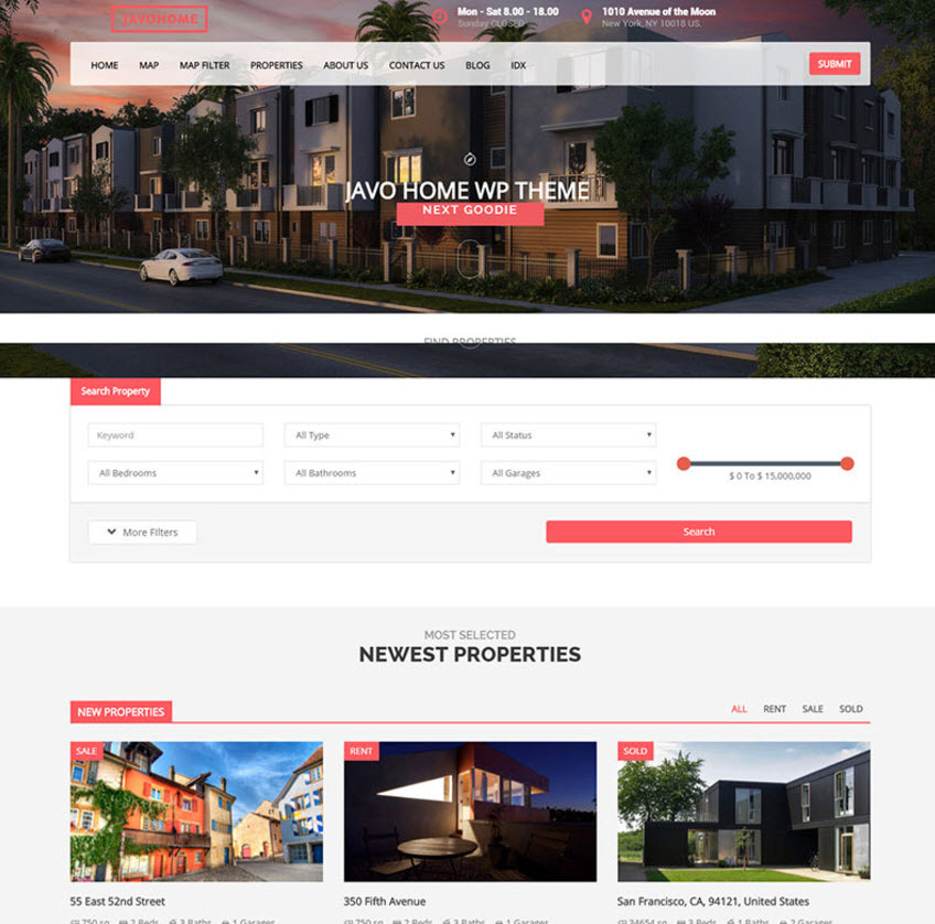 20+ Best WordPress Themes for Real Estate Websites (2017 edition)