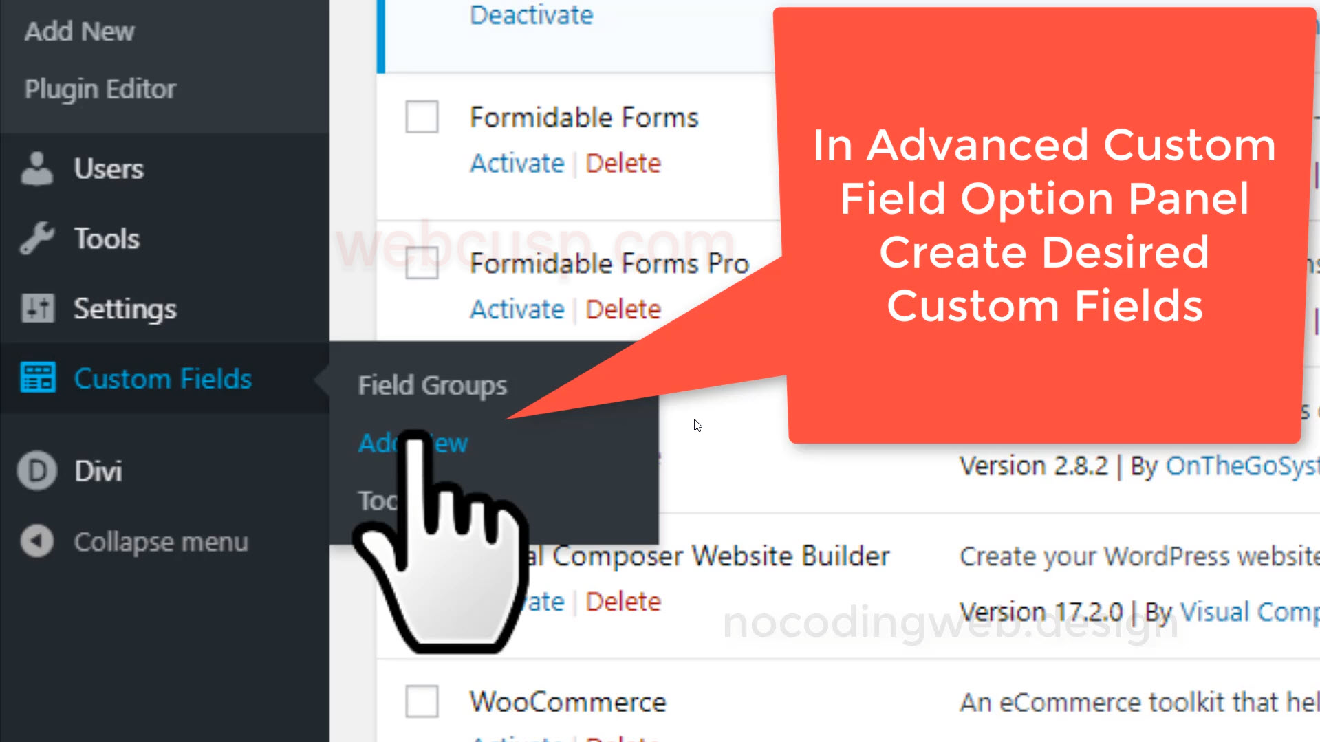 How to display custom fields value in posts with Divi Builder